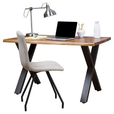 jedidiah acacia wood computer desk teak finish christopher home jedidiah acacia wood computer desk teak finish