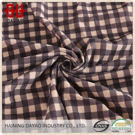 Plaid Automotive Upholstery Fabric by 100 Polyester Plaid Flannel Car Upholstery Fabric Buy