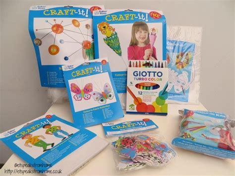 kids craft room with baker ross summer crafts with baker ross et speaks from home