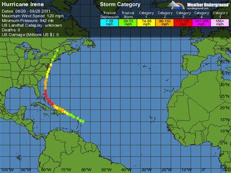 Weather Underground Hurricane Tracking | hurricane irene weather underground