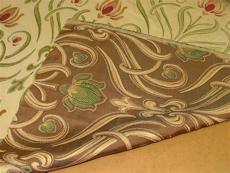 art nouveau fabric upholstery 9m art nouveau tiffany soft gold designer jacquard curtain