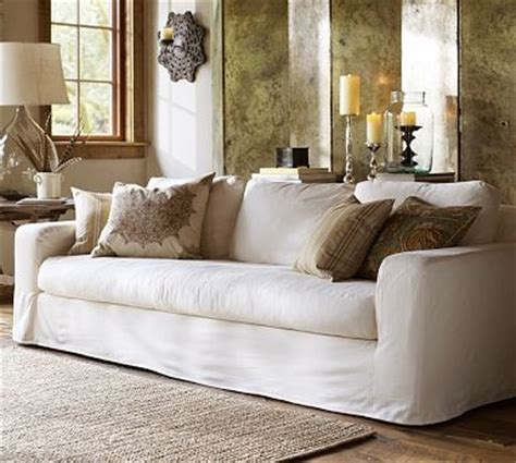 white slip covers for sofa pottery barn solano sofa white slipcoverslipcovers