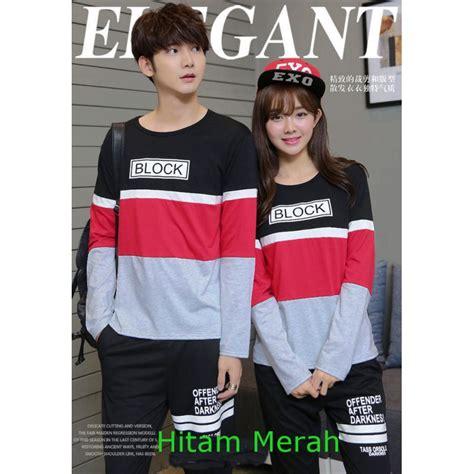 Lp Biru Kaos Baju Pasangan Sepasang jual baju lp block baju kaos pasangan fashion grosir model terbaru 2018