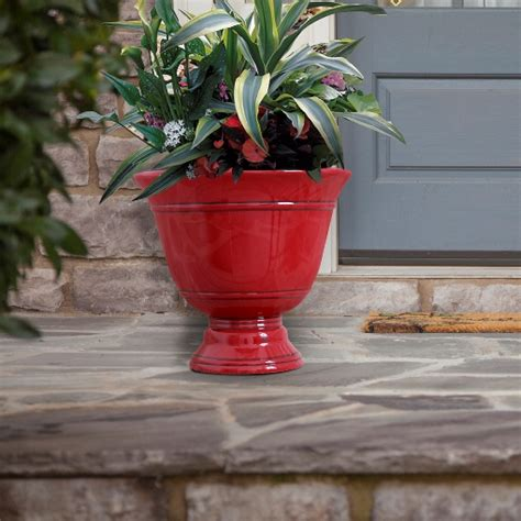 cmx 174 15 quot virginia urn chili southern patio