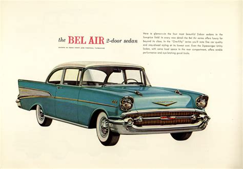 3 Door Garage by 1957 Bel Air Specs Colors Facts History And