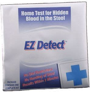 bii01 ezdetect home colon cancer test kit