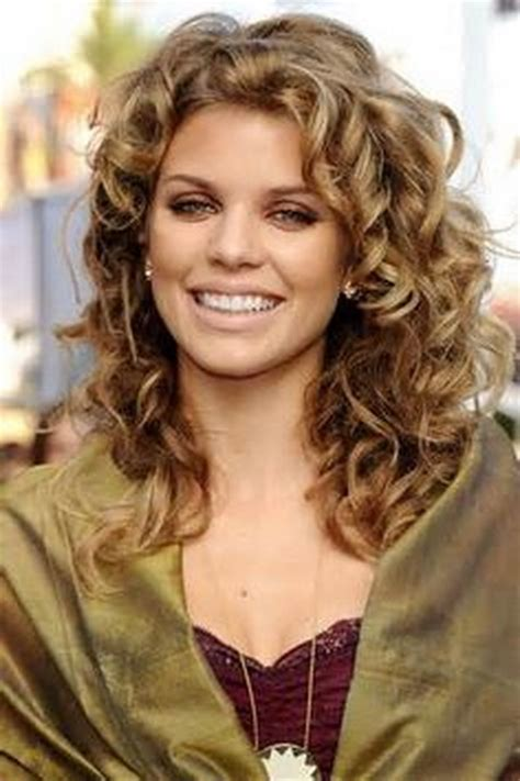 2014 long permed hair curly perm hairstyles