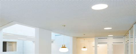 Faux Plafond Acoustique Placo by Plafond Rigitone 174 Pour L Isolation Phonique Plafond L Placo