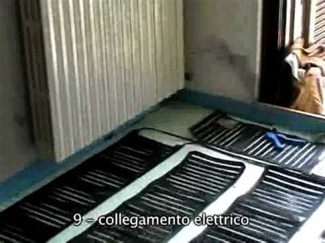 riscaldamento elettrico a pavimento consumi impianto riscaldamento a pavimento con nanotecnologie 35m2