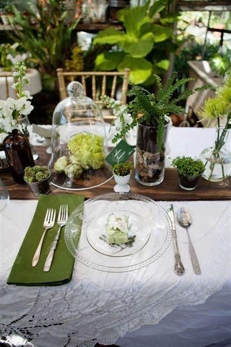 tavole matrimonio 20 idee per un matrimonio botanico wedding