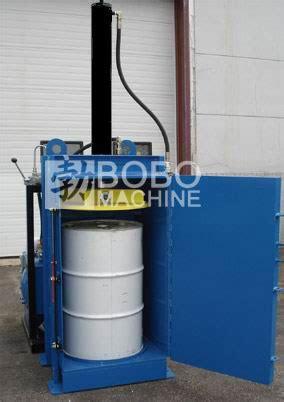 metal drum barrel baler,drum barrel crusher manufacturer