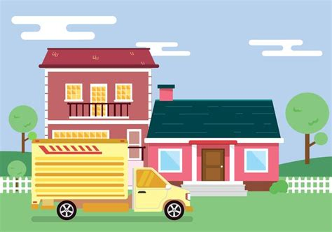 moving   house vector   vectors