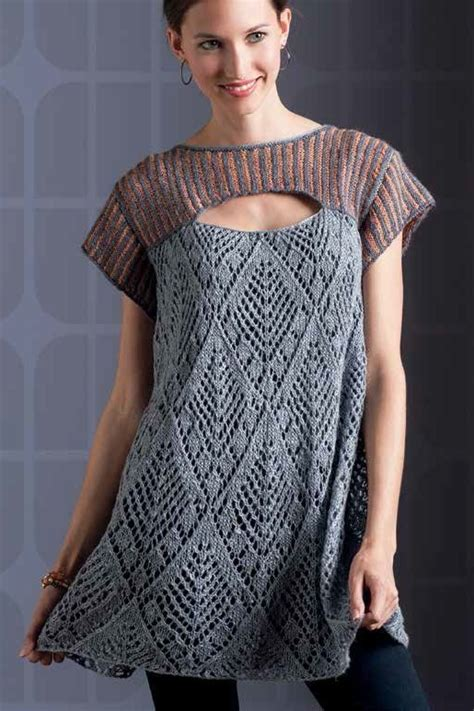 knitting pattern tunic tunic and dress knitting patterns in the loop knitting