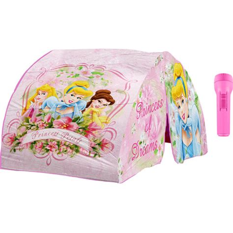 princess tent bed disney princess bed tent with flashlight pink pretend