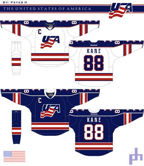 concept design usa usa hockey concept hockeydesign