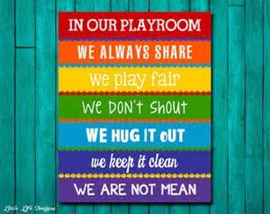 Spiderman Bedroom Decor Playroom Rules Sign Childrens Wall Art Kids Room Decor