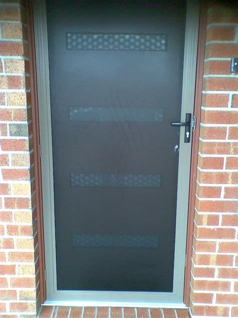 metal security screen doors exles ideas pictures