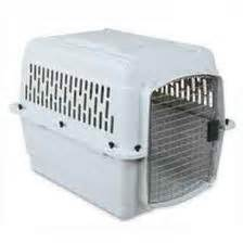 puppy using bathroom in crate heavy duty wire dog crates for small to extra large dog breeds extra large dog crate