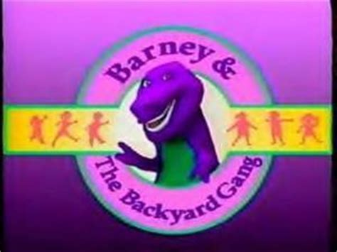 barney and the backyard gang cast why i love barney barney friends fanpop