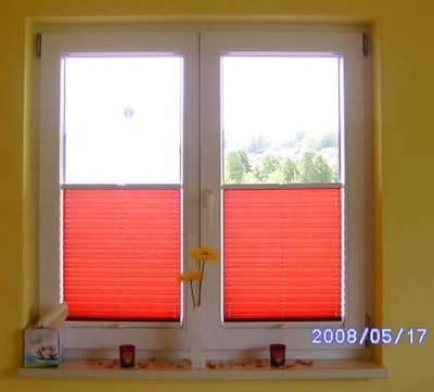 Fenster Sichtschutz Plissee plissee als sonnenschutz am fenster