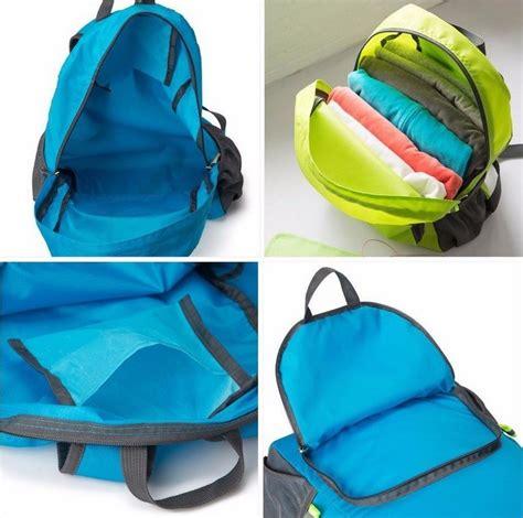 Backpack Tas Ransel tas ransel lipat tas travel praktis yang dapat