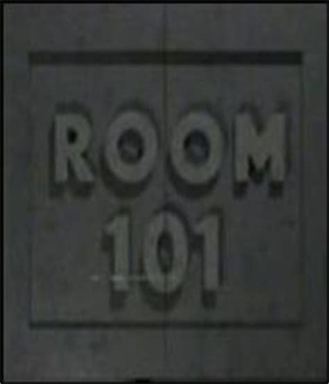 room 101 in 1984 room 101