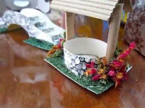 como hacer las piezas del pesebre en material reciclable puente y pozo para pesebre hecho en cart 243 n youtube