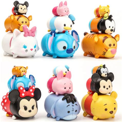 Sepatu Lukis Tsum Tsum 1 3pcs Lot Tsum Tsum Mini Figure Lot 2017 New Pvc Tsum Tsum