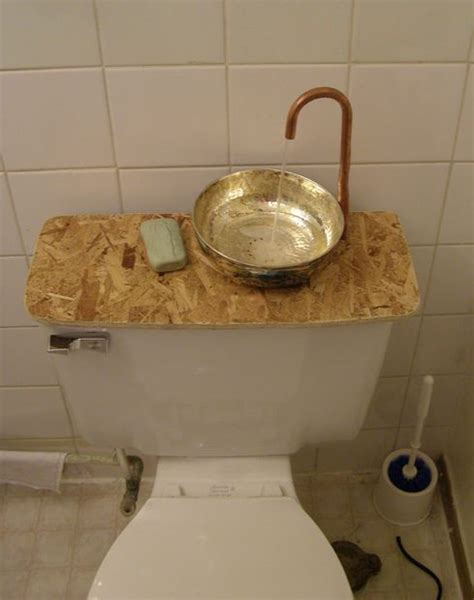 no hot water upstairs bathroom 25 best ideas about toilet sink on pinterest space