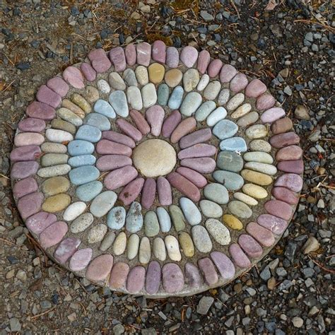 How To Build Raised Garden - how to make pebble mosaic stepping stones diy projects for everyone