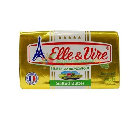 Vire Butter Salted 200gr vire butter pack salted celinemeatshop