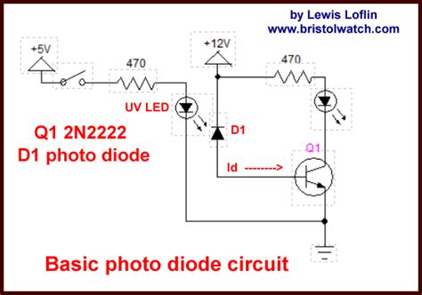 led diode operation photodiode circuits operation and uses