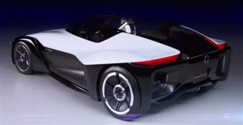 nissan supercar concept nissan bladeglider is electric vehicle supercar concept
