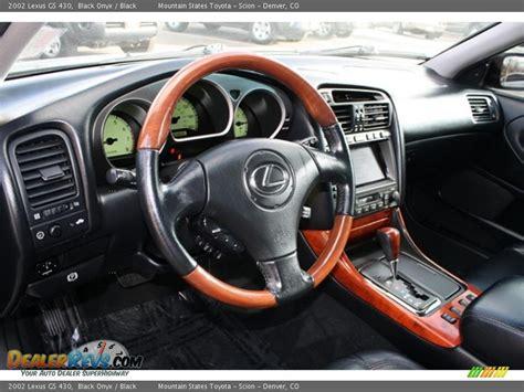 black lexus interior black interior 2002 lexus gs 430 photo 8 dealerrevs com