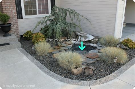 pond for front yard landscape ideas pinterest