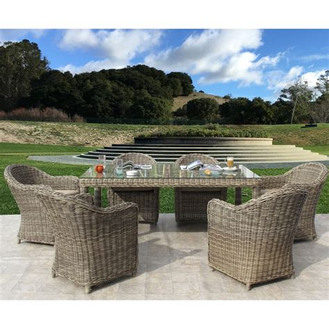 monte carlo dining room set monte carlo 7pc dining set