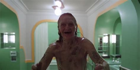 the shining woman in bathtub all work and no play makes sigmund a dull boy freud s