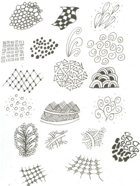 doodle templates zentangle templates