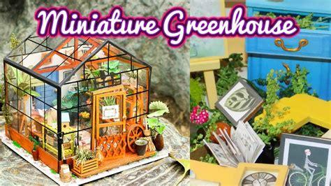 dollhouse greenhouse diy miniature greenhouse dollhouse kit cathy s flower