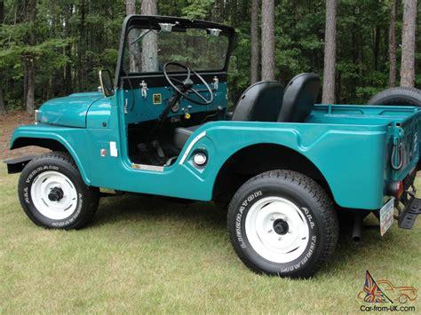 1966 Jeep Cj5 1966 Jeep Cj5 Restored 3 Owner Jeep Only 59k Original
