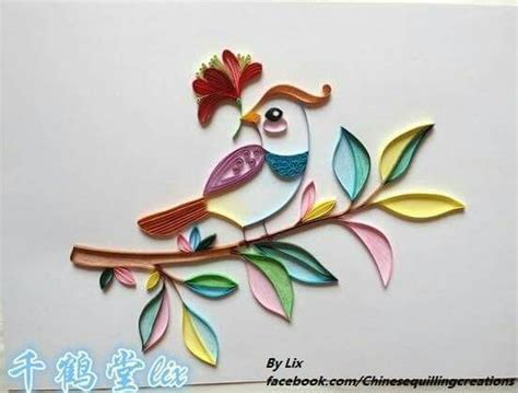 procedure quilling parrot branka mileti all about 567 best quilling aves passaro images on pinterest