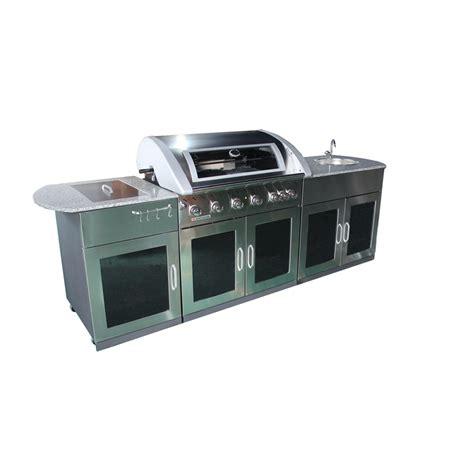 matador 6 burner entertainer granite top outdoor kitchen - Outdoor Kitchen Bunnings