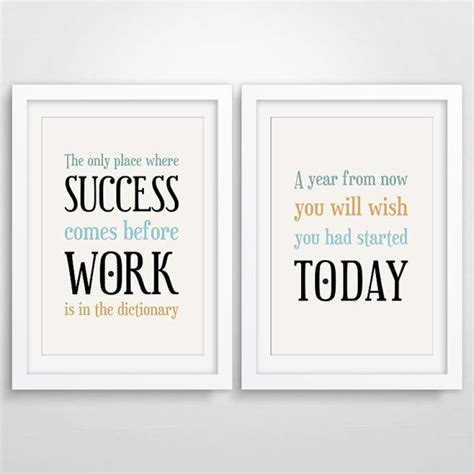 office layout quotes large office decor typography posters inspirational quote