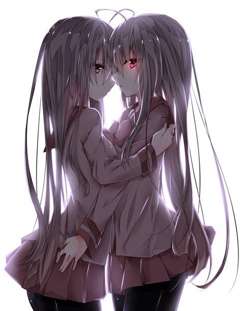 girl yuri anime love couples anime animegirl ecchi yuri pinterest anime