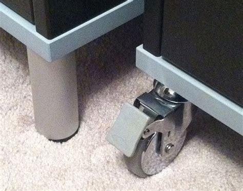 ikea besta casters replace shity effektiv wheels with besta ones ikea