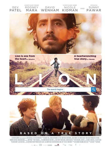 lion film english lion gets its first official india poster english