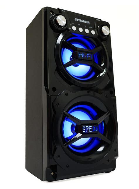 Speaker Portabel Sb04 Stereo Sound sylvania sp328 portable bluetooth speaker
