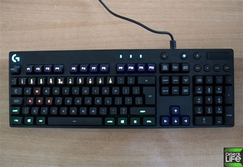 Keyboard Logitech G810 logitech g810 review keyboard gamer