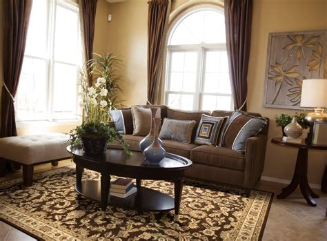 Living room interior design home decoration excerpt brown and blue loversiq