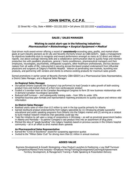 professional sle resumes top sales resume templates sles
